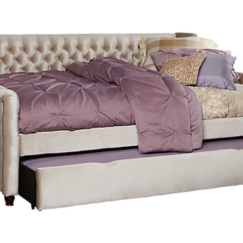 Alena Champagne 2 Pc Twin Daybed with Trundle - Twin Beds Colors