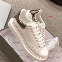 Alexander Mcqueen Women Fashion Casual Sneakers Sport Shoes