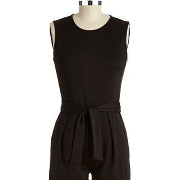 Eight Sixty Sleeveless Short Jumpsuit
