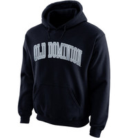 Old Dominion Monarchs Bold Arch Hoodie – Navy Blue