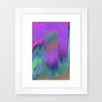 hlgrphcmlt Framed Art Print by Ducky B