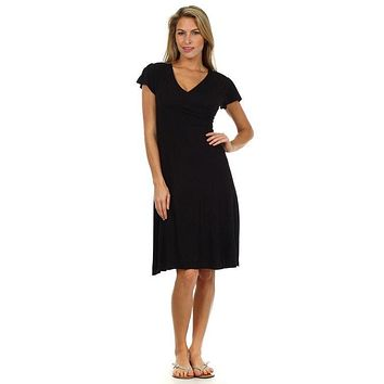 Angelina Crossover Nursing Dress (FINAL SALE)