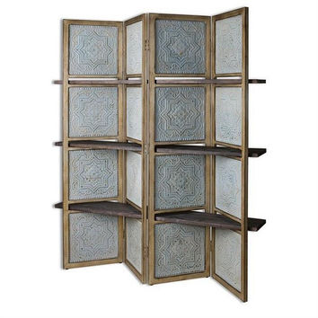 Uttermost Anakaren Screen with Shelves - Uttermost 24511