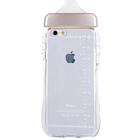 Baby Bottle iPhone 6 Case - Gold