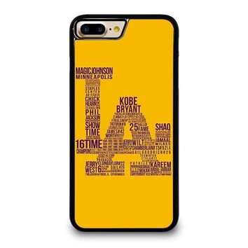 LOS ANGELES LAKERS LA iPhone 7 Plus Case Cover
