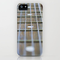 Guitar Neck and Strings iPhone Case by Brian Raggatt    | Society6