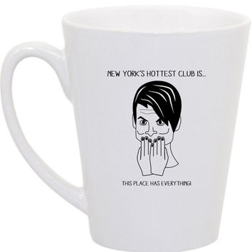 Stefon SNL coffee mug by perksofaurora on Etsy