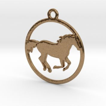 Horse Pendant by Jilub on Shapeways