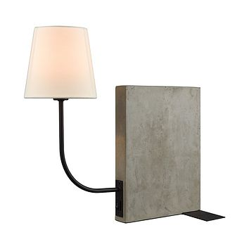 Sector Shelf Sitting Table Lamp