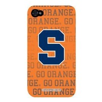 Syracuse Orange Full Design on Verizon iPhone 4 Case by Coveroo