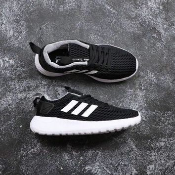 Adidas Neo Cloudfoam Life Racer CC Black White - Best Deal Online