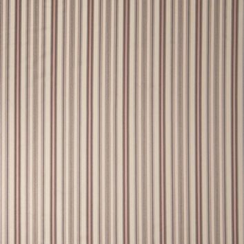 Stroheim Fabric 0676403 Foxwood Stripe Cherry Blossom