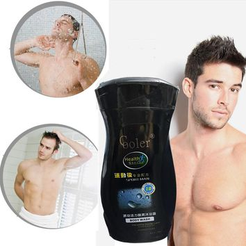 Oil-Control Moisturizing Skin Care Shower Gel Deeply Cleaning Men Hair & Body Shower - After Sport 260 ML Free Shipping