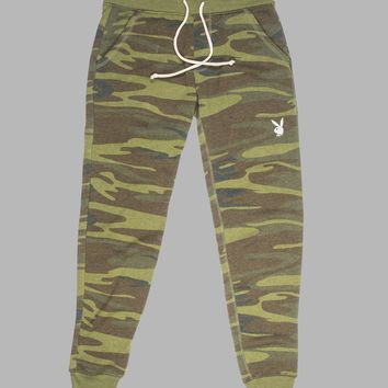 Women's Camo Basics Rabbit Head Jogger Pants