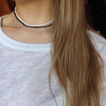 Plain Beaded Choker