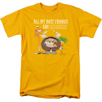 FOSTER'S/IMAGINARY FRIENDS - S/S ADULT 18/1 - GOLD -