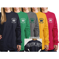 University of Notre Dame Fighting Irish Women's Ra Ra Football Long Sleeve T-Shirt | University Of Notre Dame
