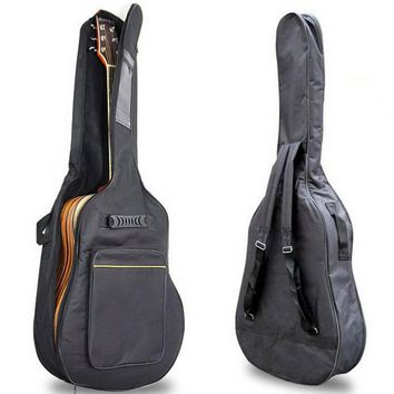 40'' 41'' Acoustic Guitar Double Straps Padded Guitar Soft Case Gig Bag Backpack free shipping