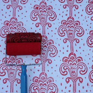 Patterned Paint Roller in Grand Damask