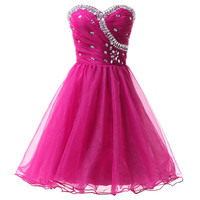 Young Girl Above Knee Black Pink Blue Semi Formal Homecoming Dresses Sexy Mini Prom Dress Cocktail Party Gown Lace up CL4503