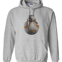 Star Wars VII Force Awakens BB-8 BB8 Hoodie Hooded Sweatshirt
