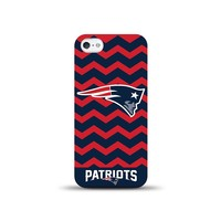 New England Patriots iPhone 5 Chevron Case NFL-CHVRN5-PATS (Pat Team)