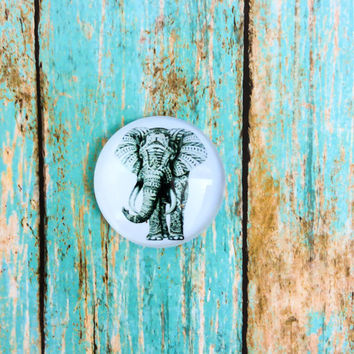 Elephant Knobs Pulls Elephant Drawer Cabinet Dresser Knob Pull Elephant Decor Wildlife Home Decor
