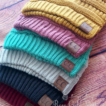 CC Beanie Hats - 38 colors to choose from!