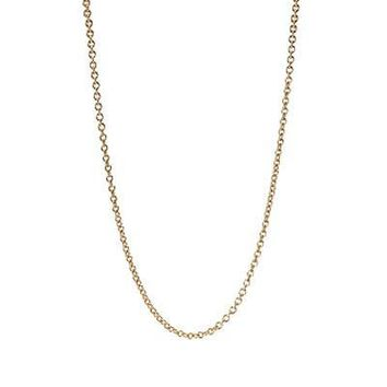 PANDORA 23.6in Gold Chain Necklace