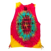 ZEPPLIN TIE DYE LIBERTY TANK
