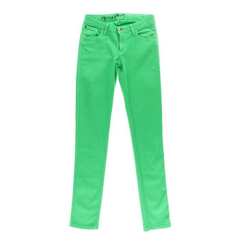 Alice + Olivia Womens Colored Denim Skinny Jeans