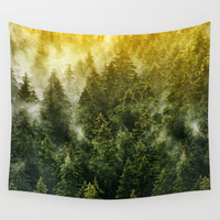 Don't Wake Me Up Wall Tapestry by Tordis Kayma