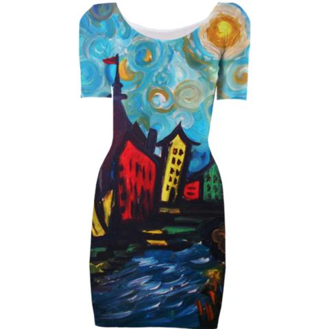 Funky Town created by rokinronda   Print All Over Me