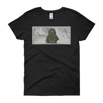 Toshiro Mifune As A Japanese Black Bear In Akira Kurasawa'S Classic Film, Yojimbo! Women'S T Shirt