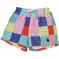 Patchwork Swimsuit in Multicolor by Southern Proper
