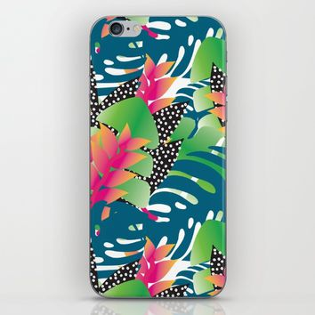 Foliage iPhone & iPod Skin by laP sciop