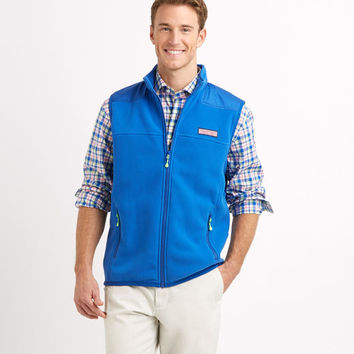 Windcrest Grid Fleece Vest