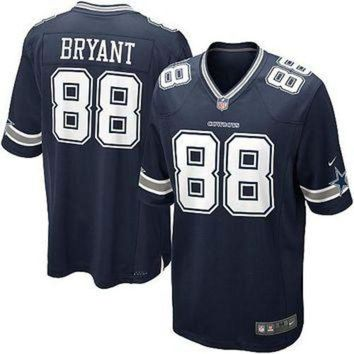 DCCKU3N Youth Nike Dallas Cowboys #88 Dez Bryant Game Navy Blue Team Color NFL Jersey