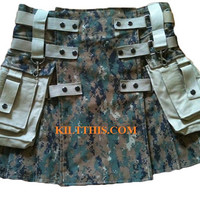 Kilts - Utility Kilts - Adjustable - Custom - Interchange Parts - Durable - Collect