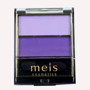 MEIS Brand Makeup Cosmetics Professional Makeup 2 Colors Eye Shadow Eyeshadow Palette Matte Eyeshadow Eye Shadow Palette MS0241