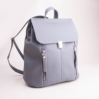 Free shipping! Women backpack Rucksack Grey backpack Small backpack Women rucksack Cycling backpack Small backpack Women purse