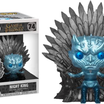 Game of Thrones - Night King on Throne Metallic Deluxe
