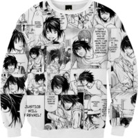 Death Note: L created by Pluto | Print All Over Me