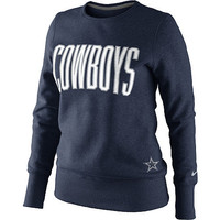 Women's Nike Dallas Cowboys Tailgater Sweatshirt