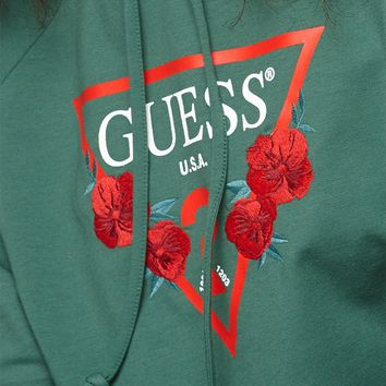 Guess Long Sleeve Floral Hoodie at PacSun.com