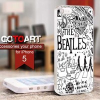 the Beatles design for iPhone 5 Case