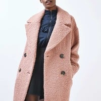Boucle Slouch Coat - New In