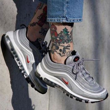 PEAP NIKE AIR MAX 97 Fashion Running Sneakers Sport Shoes G