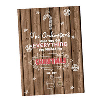 Pregnancy Announcement Christmas Cards - Holiday Card Pregnancy Reveal Card - Christmas Pregnancy Reveal - Holiday Pregnancy Reveal Card