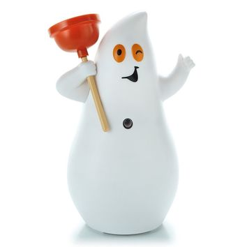 Hallmark Jokin' in the John Ghost Halloween Decor